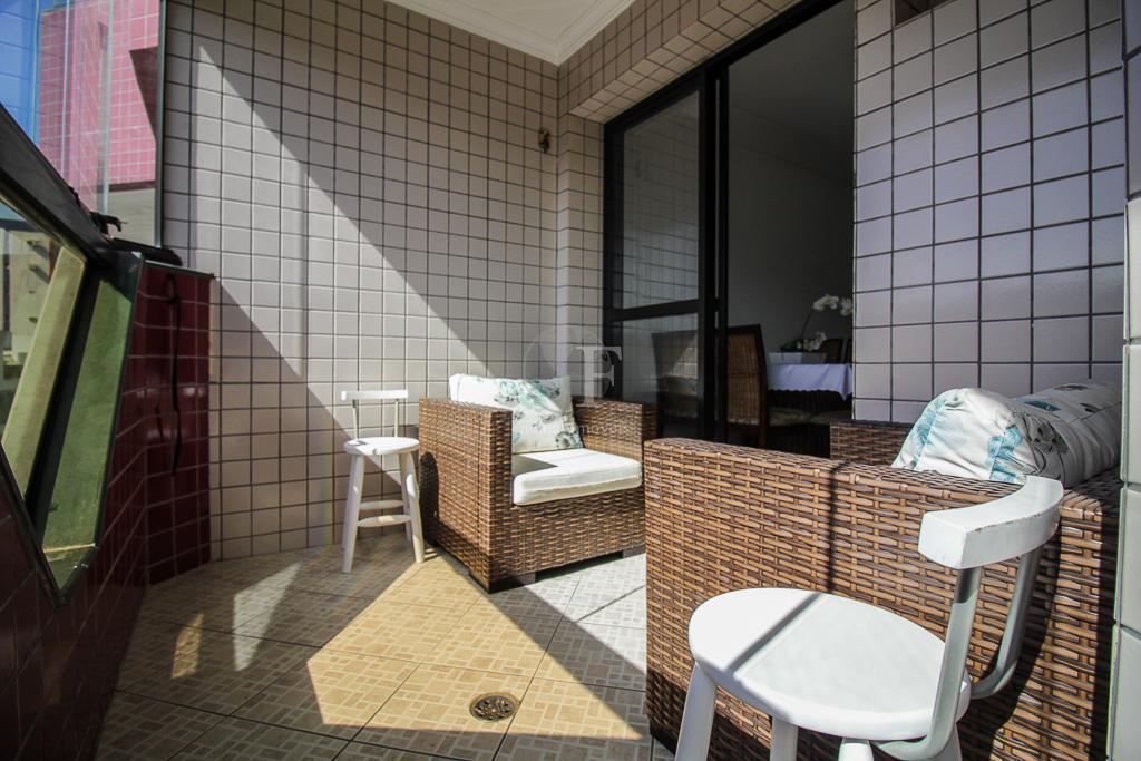 Apartamento residencial à venda, Tombo, Guarujá