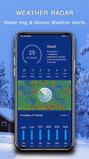 Weather - The Most Accurate Weather App 1.1.6 Screenshots 6