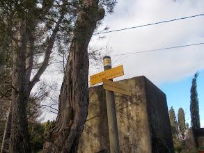 Photo: signalétique au hameau de la Valsèque