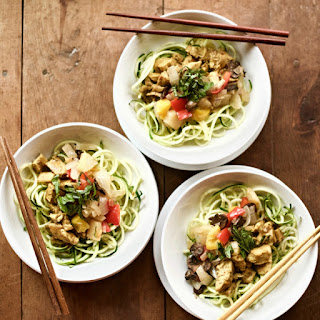 Zucchini Noodle Curry Recipe