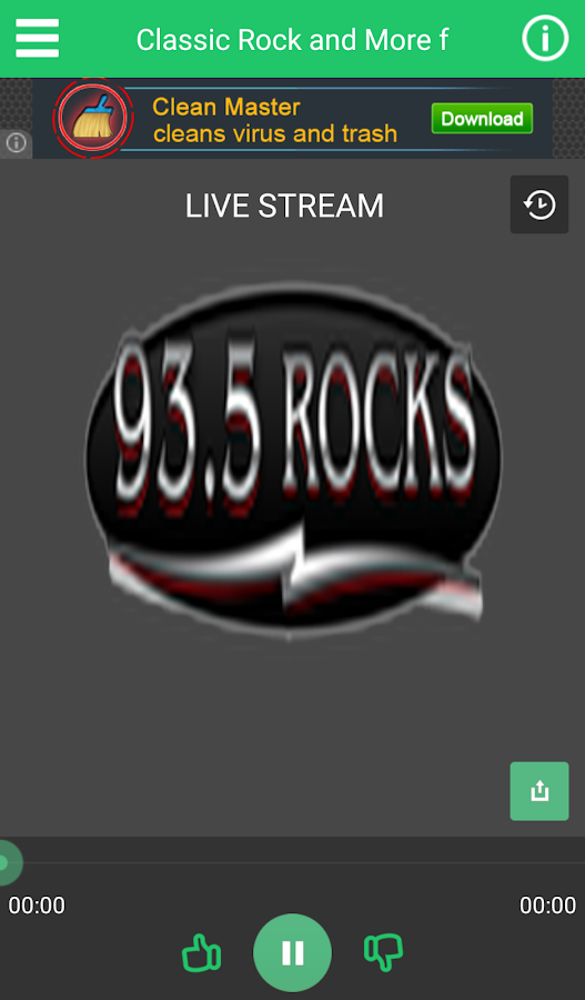 93.5 ROCKS- screenshot