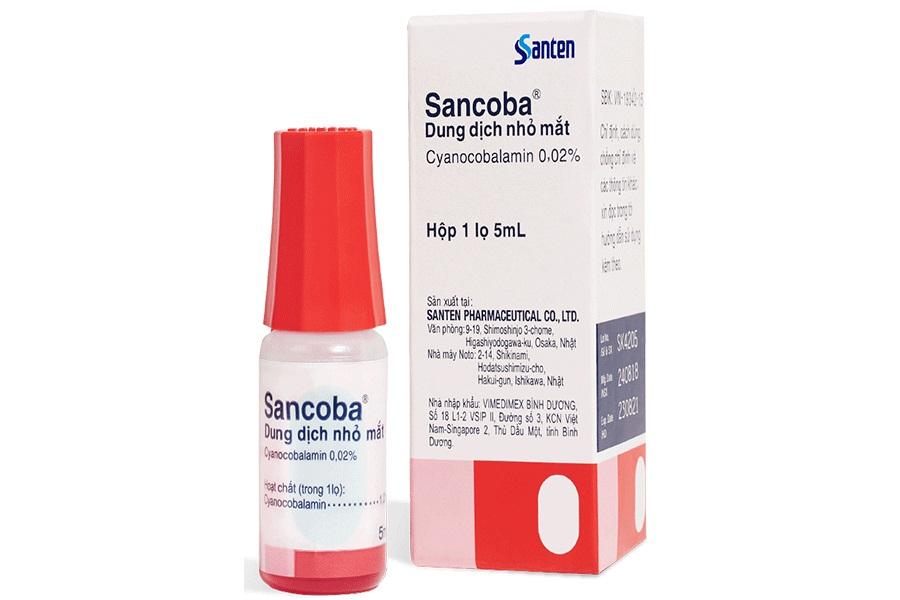 Thuốc nhỏ mắt Sancoba