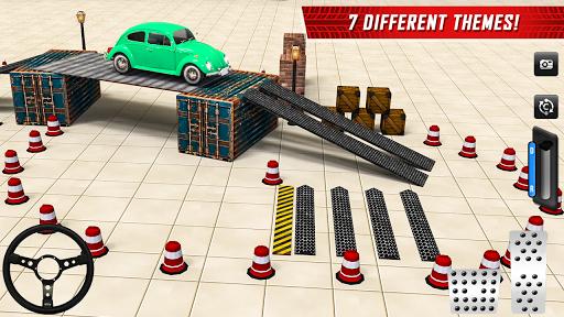 Classic Car Parking Real Driving Test apktram screenshots 3