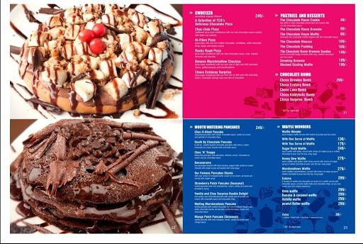 The Chocolate Room menu 3