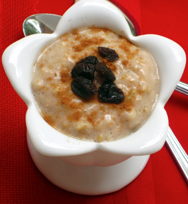 Slow Cooker Brown Rice Pudding Recipe