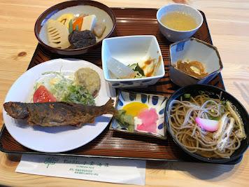 剣山山頂ヒュッテの夕ご飯