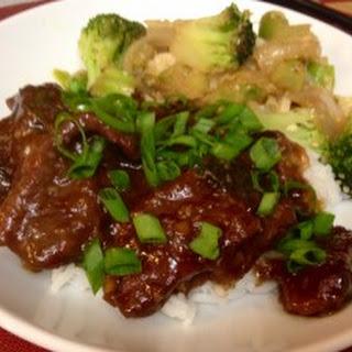 Crock Pot Copycat P.F. Chang's Mongolian Beef