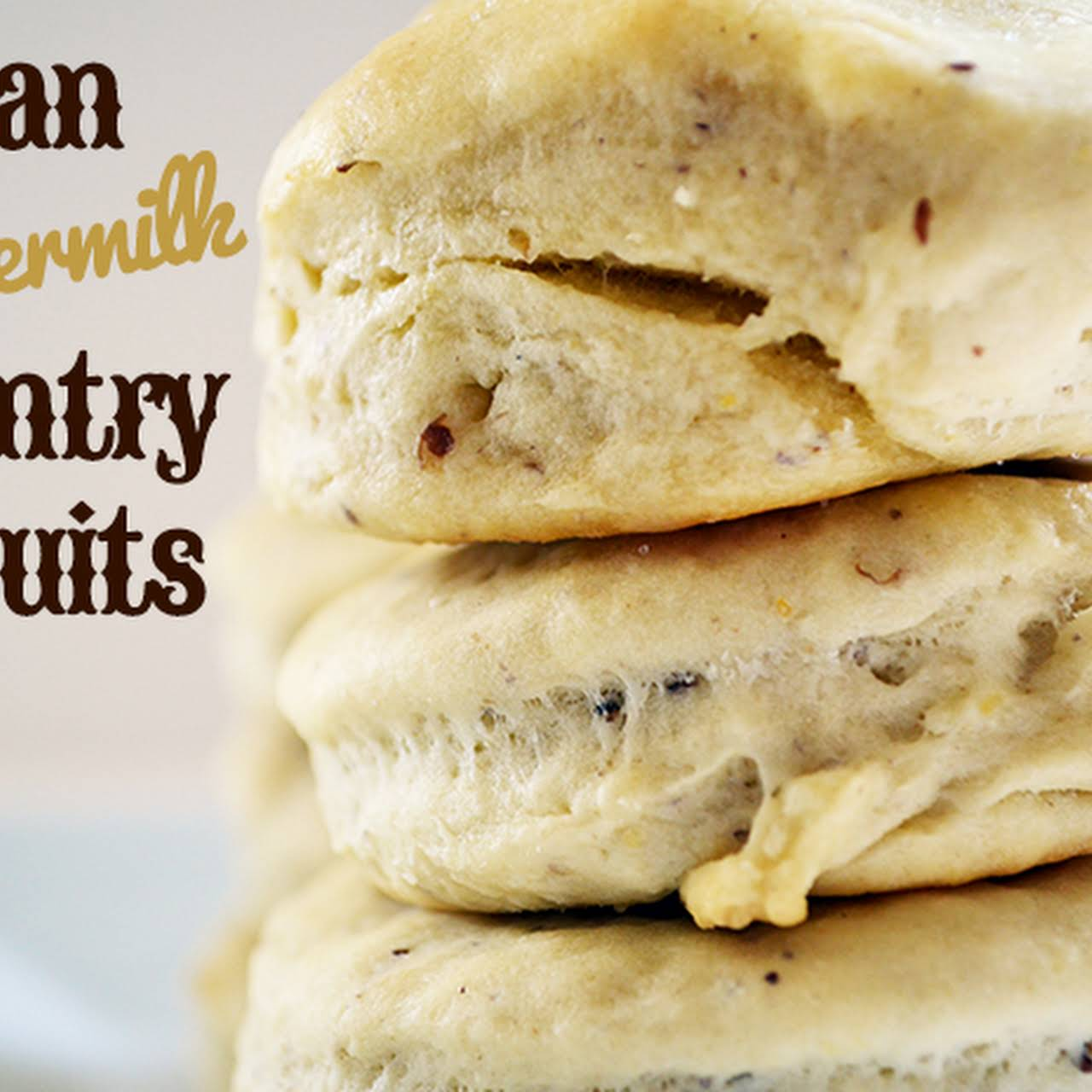 Lazy Sunday Brunch Vegan Country Style Buttermilk Biscuits and