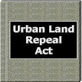 The Urban land Repeal Act 1999