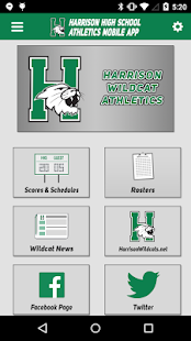 Harrison High School Athletics- screenshot thumbnail