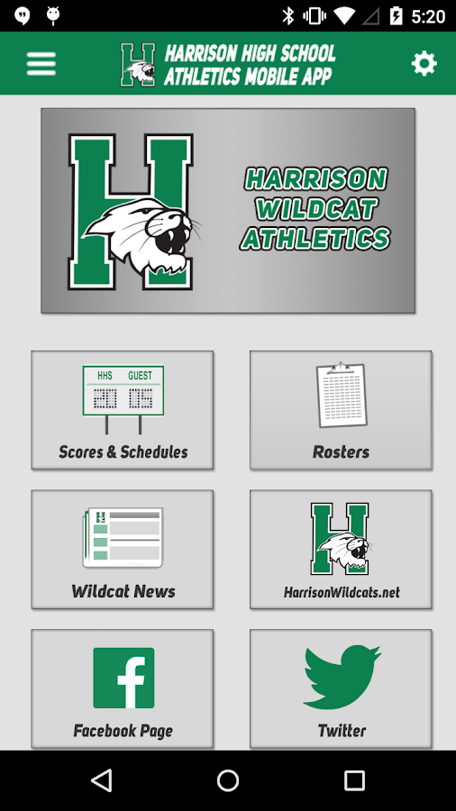 Harrison High School Athletics- screenshot