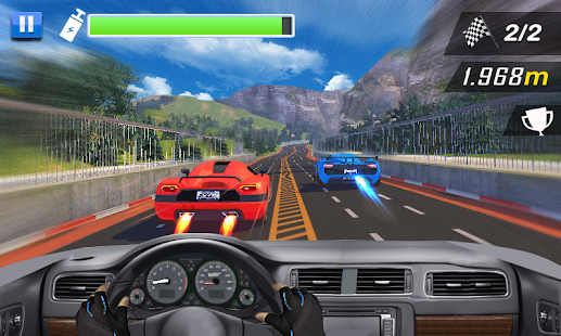Racing In Car- screenshot thumbnail