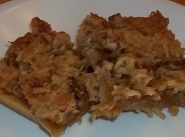 Toffee Nut Bars Recipe