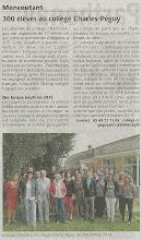 Photo: 2014-09-11 CO 300 élèves au collège Charles-Péguy