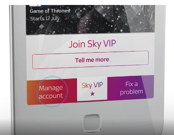 sky payment method option