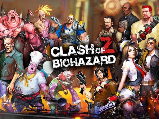 Clash of Z:Biohazard 0.18 APK MOD screenshots 1