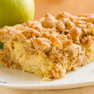 Apple Crumb Cake.