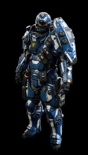 ArtStation - Planetside Arena - Class armour, Ranulf Busby | Doku | Futuristic armour, Armor concept, Power armor
