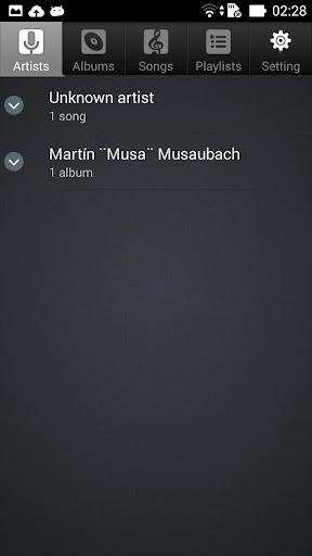 Music player 2.17.85 screenshots 1