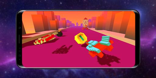 Télécharger Gratuit Infinity Racer: Spaceship Game 3D apk mod screenshots 3