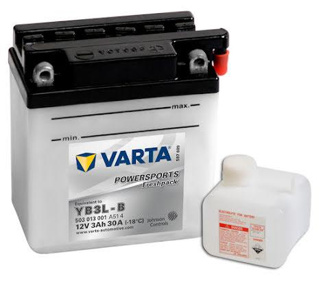 VARTA MC-BATTERI 12V/3AH YB3L-B