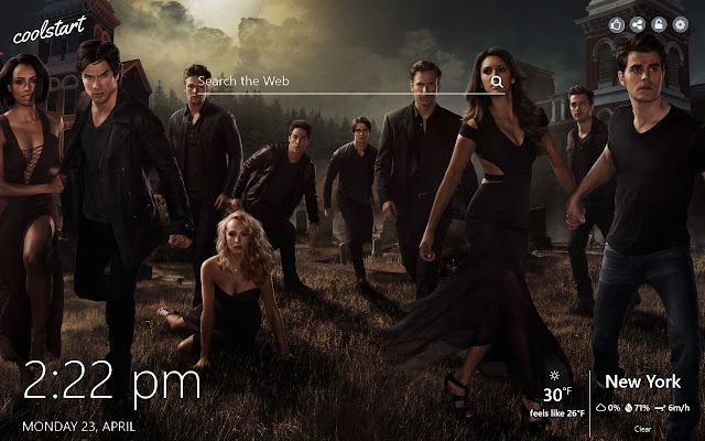 The Vampire Diaries Hd Wallpapers Theme
