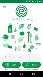 EWG's Healthy Living- screenshot thumbnail