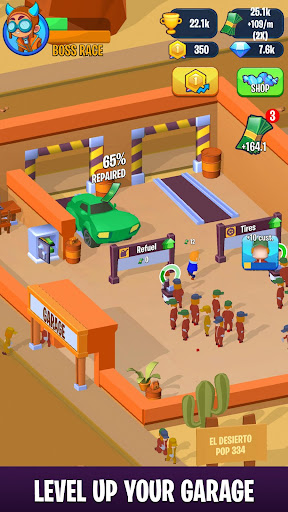 Pit Crew Heroes - Idle Racing Tycoon modavailable screenshots 3