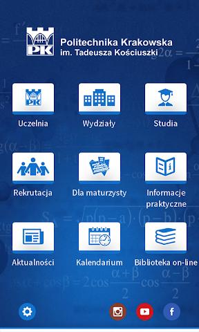 android Politechnika Krakowska Screenshot 1
