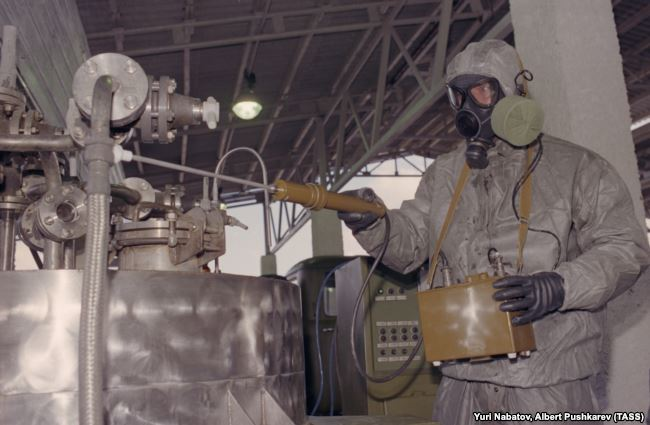 Передвижной комплекс для уничтожения химического оружия, 1987 год