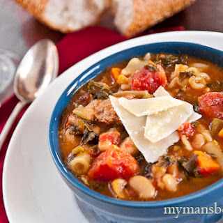 Minestrone Soup With Meat Recipes.