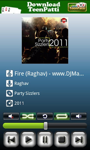 Android Media Player screenshot 2