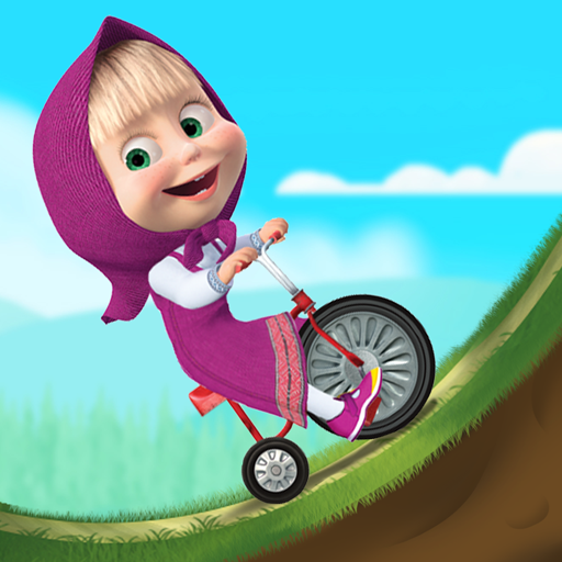 Masha and the Bear: Climb Racing and Car Games file APK Free for PC, smart TV Download
