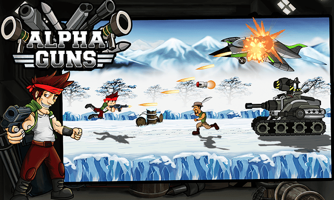 Alpha Guns Shooter :Metal Soldier -Killer Gun Game screenshot