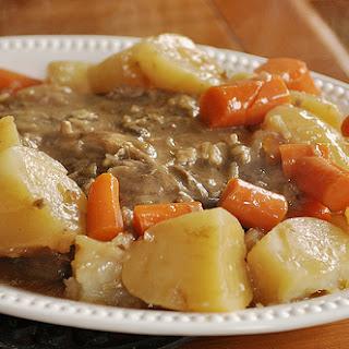 Sunday Pot Roast.