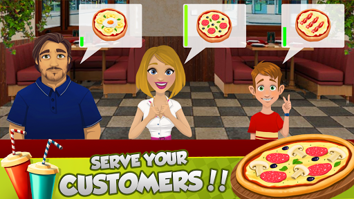Pizza Maker ?Cooking Yummy Pizzas and serve Drink