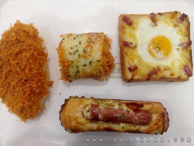 Latest Bread Discoveries: Chowkings Happy Pao and BreadZ