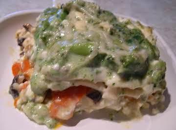 Vegetable Lasagna Deb's way