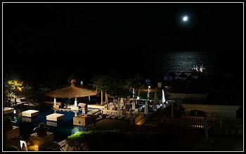 """Photo: Отель """"Шератон"""", ночь. Вид с балкона номера."""