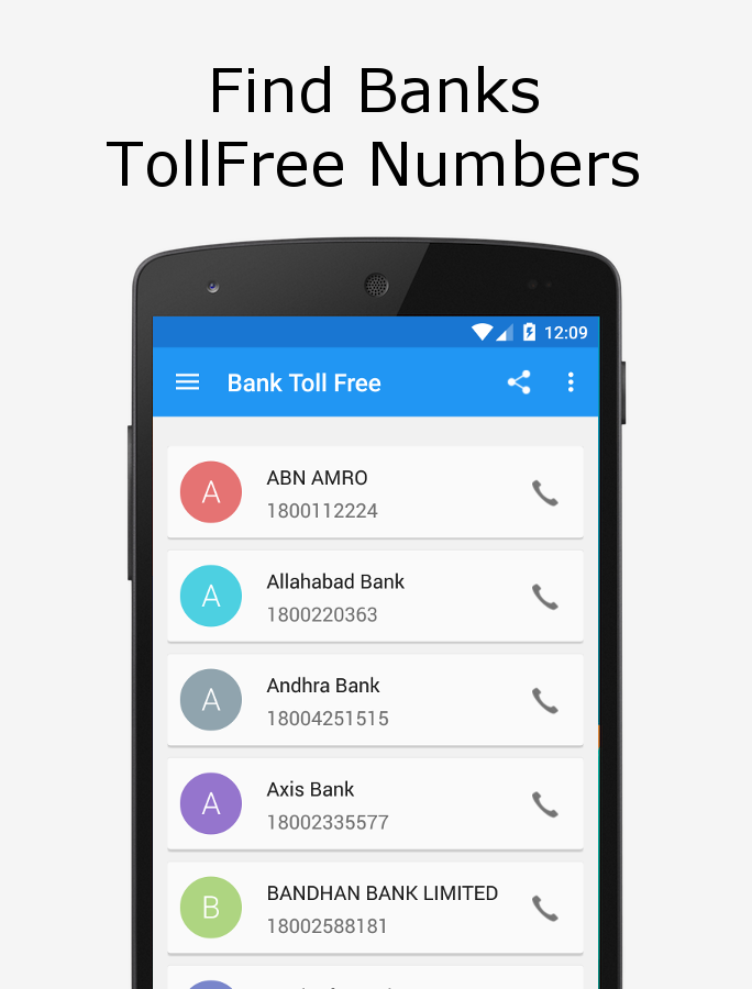Bank IFSC ATM EMI TollFree- screenshot