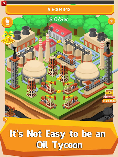 Oil Tycoon - Idle Clicker Game 2.11.1 screenshots 6