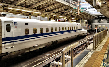 """Photo: Shinkansen - the one and only """"Bullet Train"""""""