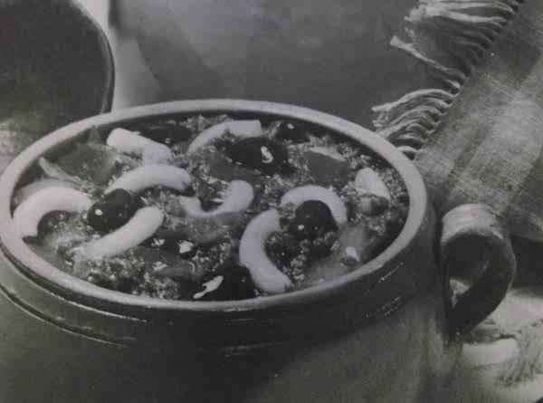 Macaroni Chili By Eddie Recipe