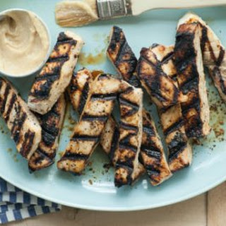 Grilled Miso Swordfish Steak.