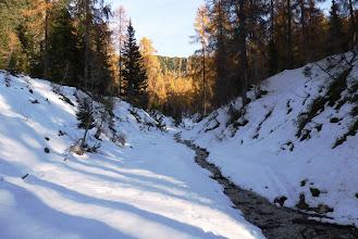 Photo: zasnežena dolina Železnica