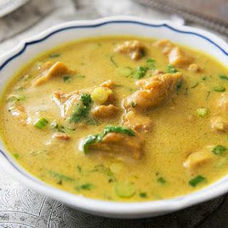 Chicken Peanut Curry.