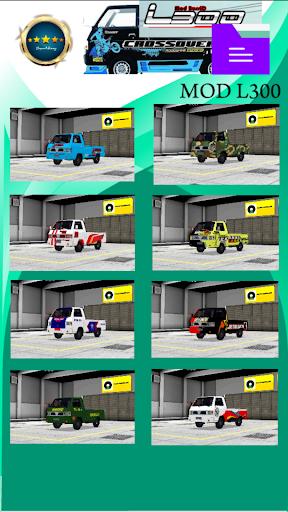 Mod Bussid L300 1.1 screenshots 2