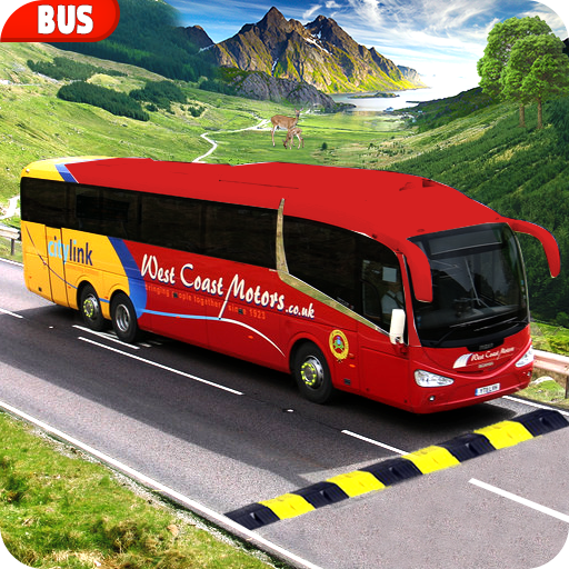 Modern Bus Drive :Hill Station (game)