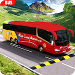 Modern Bus Drive :Hill Station Icon