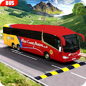 Modern Bus Drive :Hill Station